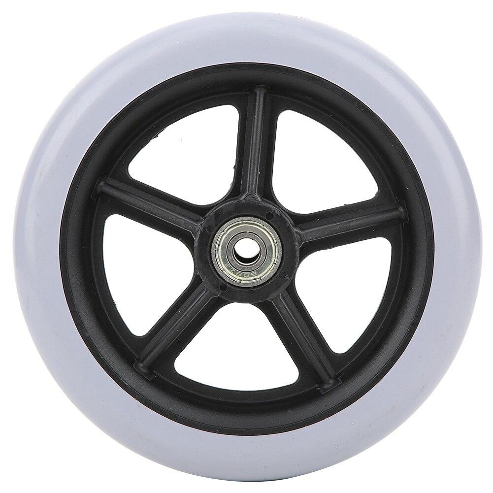 6-дюймовые передние колеса для пожилых людей, противоскользящие резиновые колеса для колясок