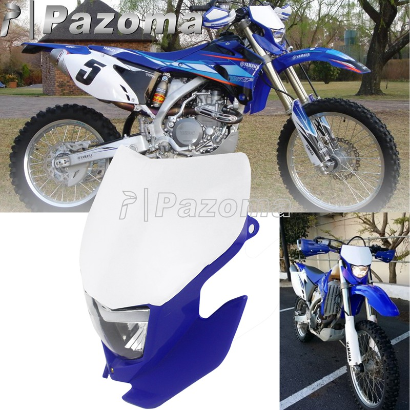 Dirt Bike Handlebar Grips Rubber For 7//8 22mm Handle Bar Yamaha YZ85 YZ125 YZ250 YZ250F WR450F TTR125 2 Stroke 4 Stroke Motorcycle Motocross Universal Dark Blue