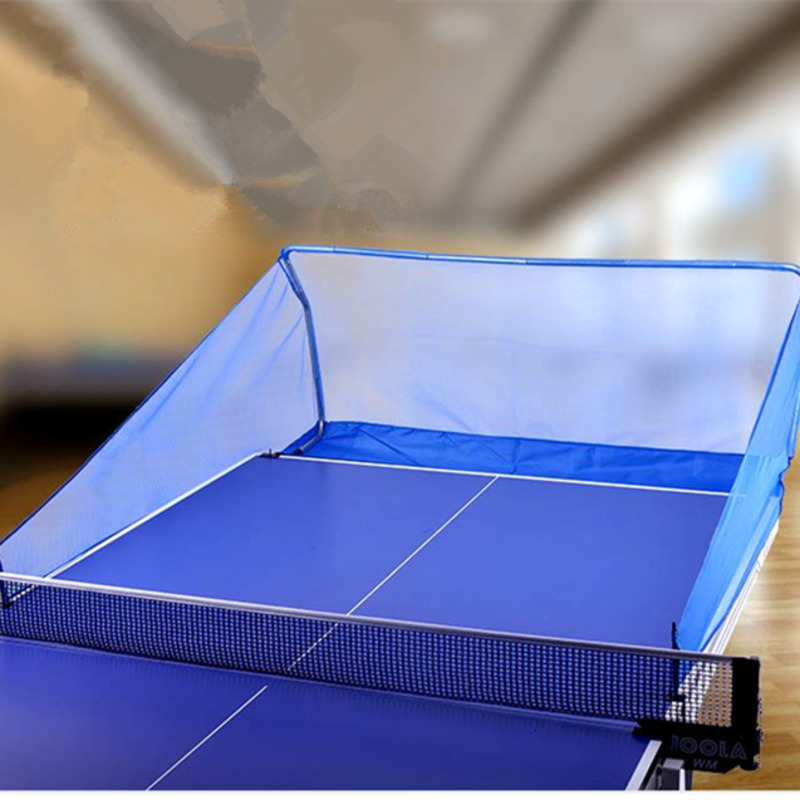 Table Tennis Ball Catch Net Ping Pong Ball Collector Net Table Tennis Accessories Portable Pingpong Collection Network HW255
