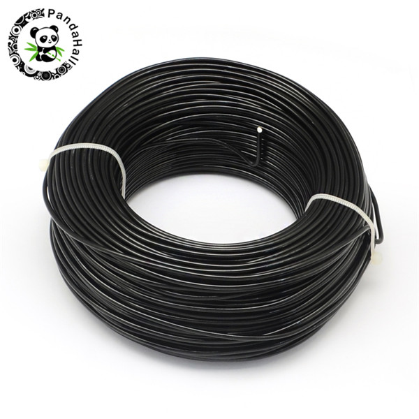 Image 3 - 1Roll Aluminum Wire Jewelry Findings for Jewelry Making DIY Silver Black 0.8mm 1mm 1.5mm 2mm-in Jewelry Findings & Components from Jewelry & Accessories