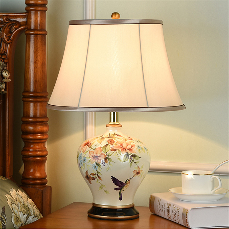 New Chinese Style Modern Flower Bird, Chinese Style Lamps