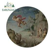 Earlfamily 13cm x 12.9cm para wiki mitos lendas portátil tronco adesivos de carro windows van geladeira decalque personalidade decoração