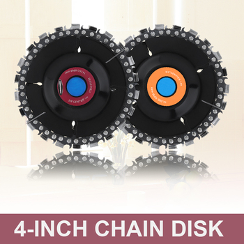 4/5 Inch Chain Saws Disc Woodworking Tray Disc Cutter Wood Grooved Saw Blade Chain Grinder Chain Disc Tool Angle Grinding Tool tool tool lateralus 2 lp picture disc