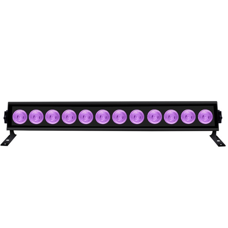 12 LED UV Party Disco Christmas Bar Black Lamp UV Violet Wall Washer LED Stage Effect Lights Blacklight Spot Light For Birthday