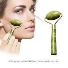 Jade Stone Roller Elaborate Manufacture Prolonged Durable Face Lift Hands Body Skin Relaxation Slimm