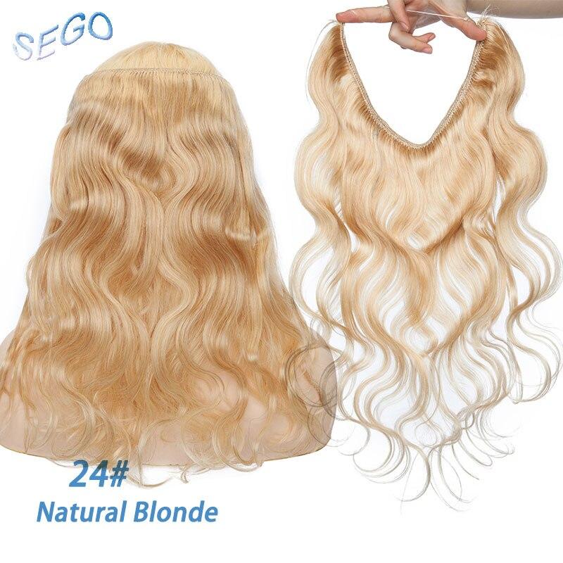 do cabelo não remy 100% real onda