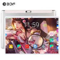 BDF 2020 nowy 10 Cal 4G LTE Tablet Pc 10/Ten rdzeń 8GB RAM 128GB ROM 1280*800 IPS 2.5D szkło hartowane 10.1 tablety Android 9.0