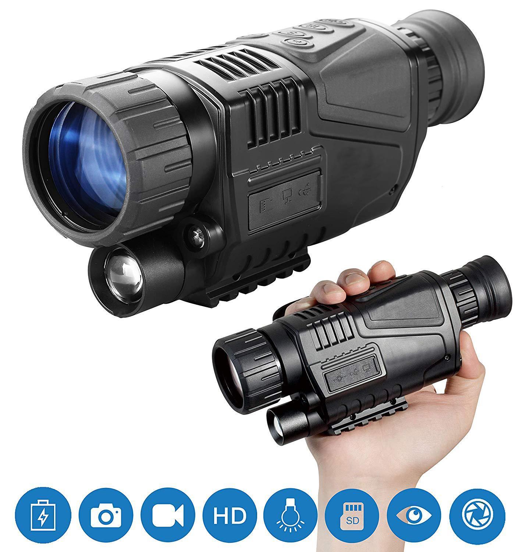 5X прицел ночного видения охотничий оптический прицел Тактический Инфракрасный ИК ночного видения охотничья камера