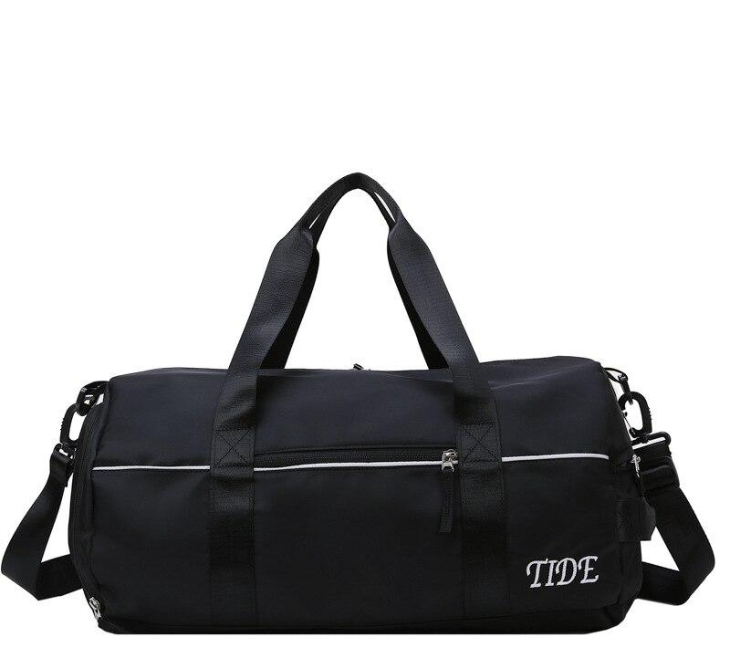 Женские Водонепроницаемые спортивные сумки для фитнеса с Сухой Влажной разделением, мужская спортивная сумка, мужская сумка для занятий