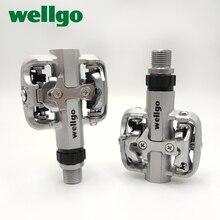 Wellgo WM001 自転車ペダル超軽量バイク自転車ペダル折りたたみサイクリング自転車フットペグペダル mtb
