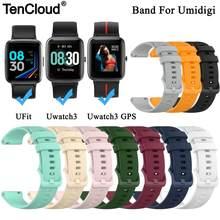 Umidigi-Correa de repuesto para reloj inteligente UFit, pulsera de silicona con GPS para Umidigi Uwatch 3
