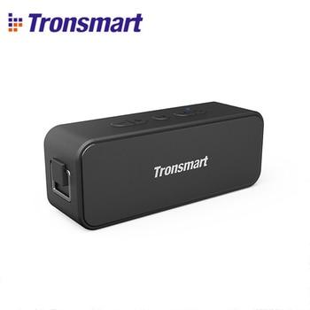 Tronsmart T2 Plus TWS Bluetooth 5.0 Speaker 20W Portable Speaker IPX7 Waterproof Column Voice Assistant Soundbar with Micro SD Portable Speakers     -
