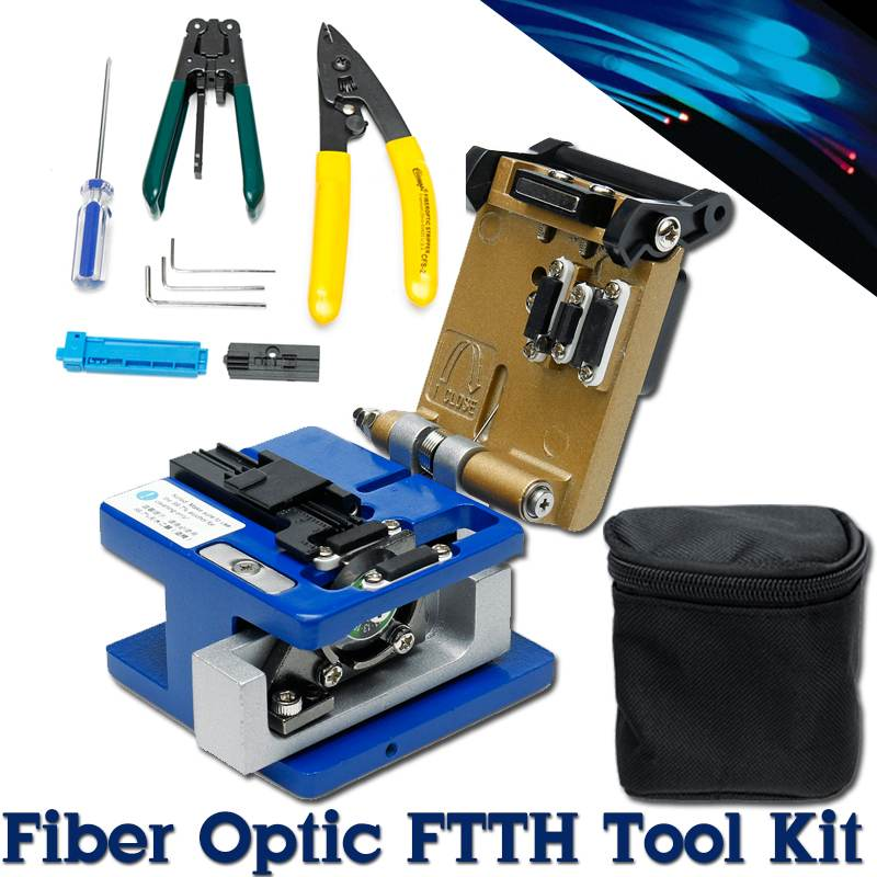 FTTH Optic Fiber Cleaver FC-6S Cable Cutting Knife High Precision Cold Contact Dedicated Metal Fiber Cutter Cleaver