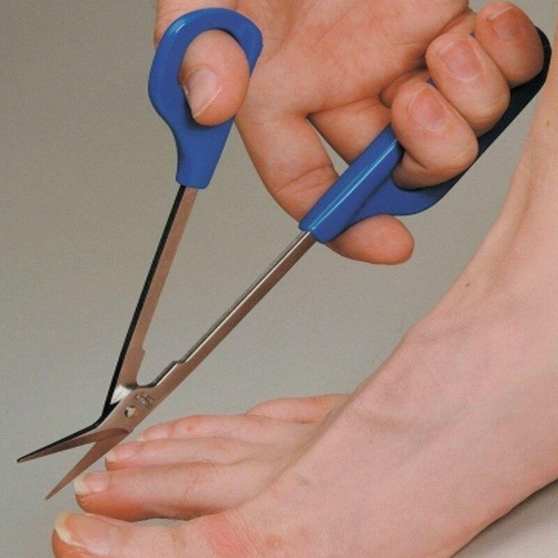 20cm Toe Nail Toenail Scissor Trimmer Long Reach Easy Grip Pedicure Trim Clipper Manicure Trimmer For Disabled Cutter