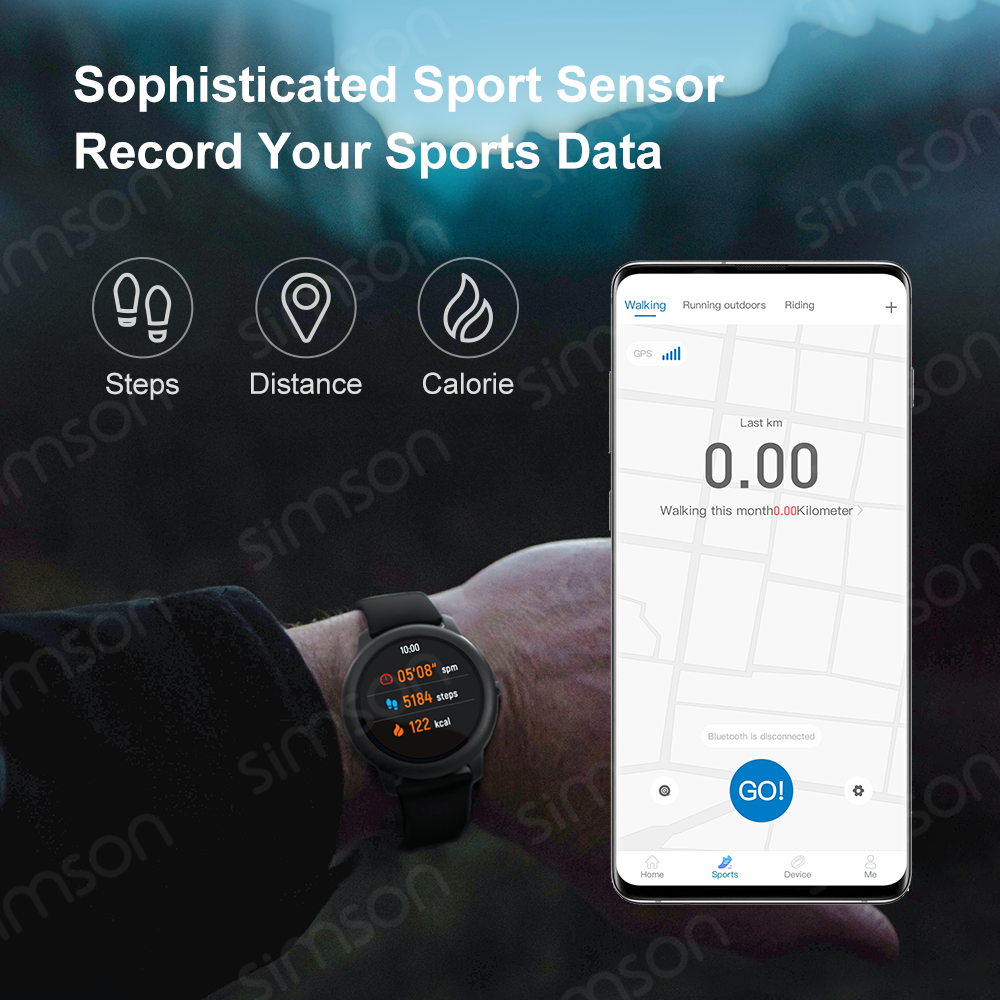 Haylou Solar Smart Watch LS05 Heart Rate Sleep Monitor IP68 Waterproof 30 Day Battery iOS Android  Sport Men Women смарт часы 3