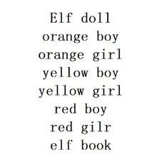 Boneca de natal brinquedos presente rena laranja menino e menina amarelo menino vermelho menina mistura coulor brinquedos elf bonecas para crianças do miúdo brinquedo