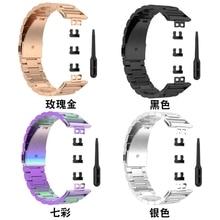 "Vervanging Armband Rvs Metalen Polsband Horloge Band Voor Huawei Horloge Fit 1.64 ""Levendige Amoled Display"