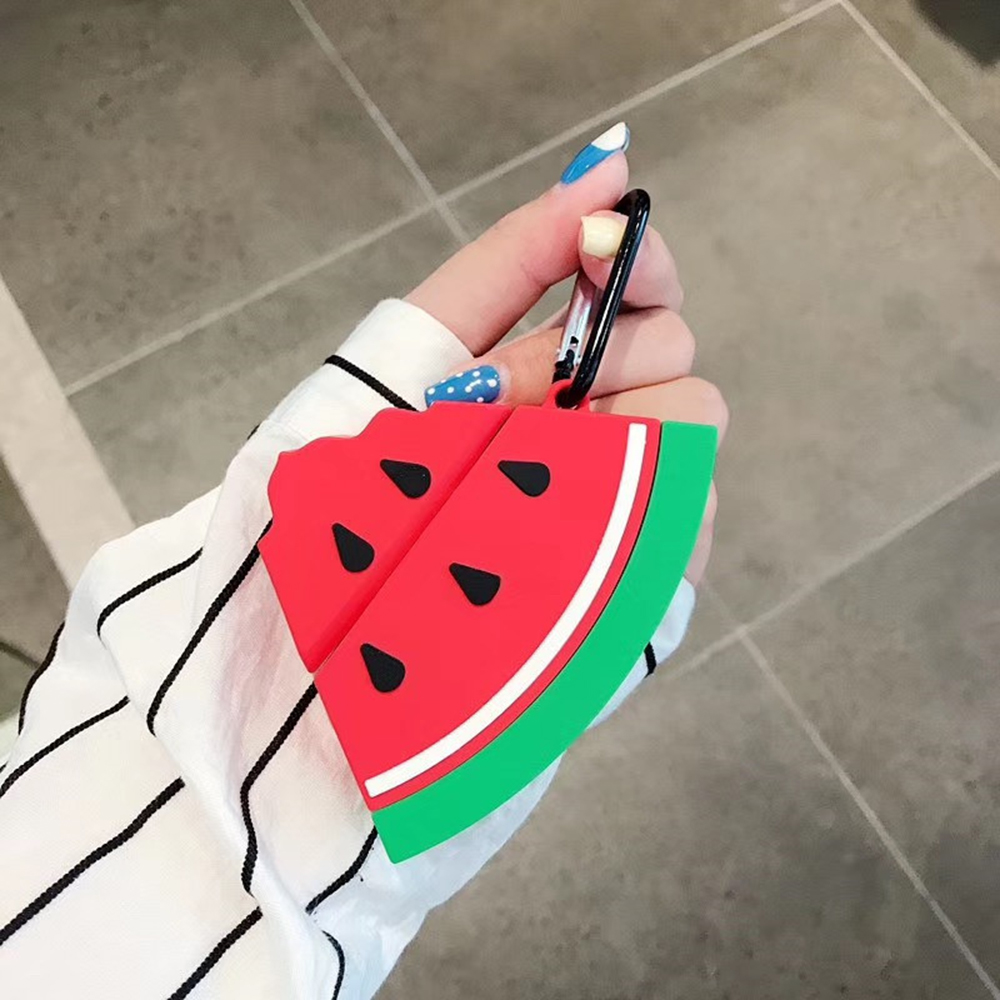 Fruit 3d Printed Earphone Bag Case For Apple Airpods 1 Silicone