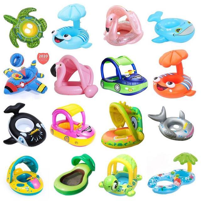 23 צורות שונות של גלגלי בריכה לילדים 1