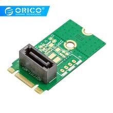 ORICO SATA к M.2 адаптер NGFF вертикальный тип SATA 7PIN к M.2 SSD твердотельный жесткий диск адаптер 2242 поддержка SATA3 протокол