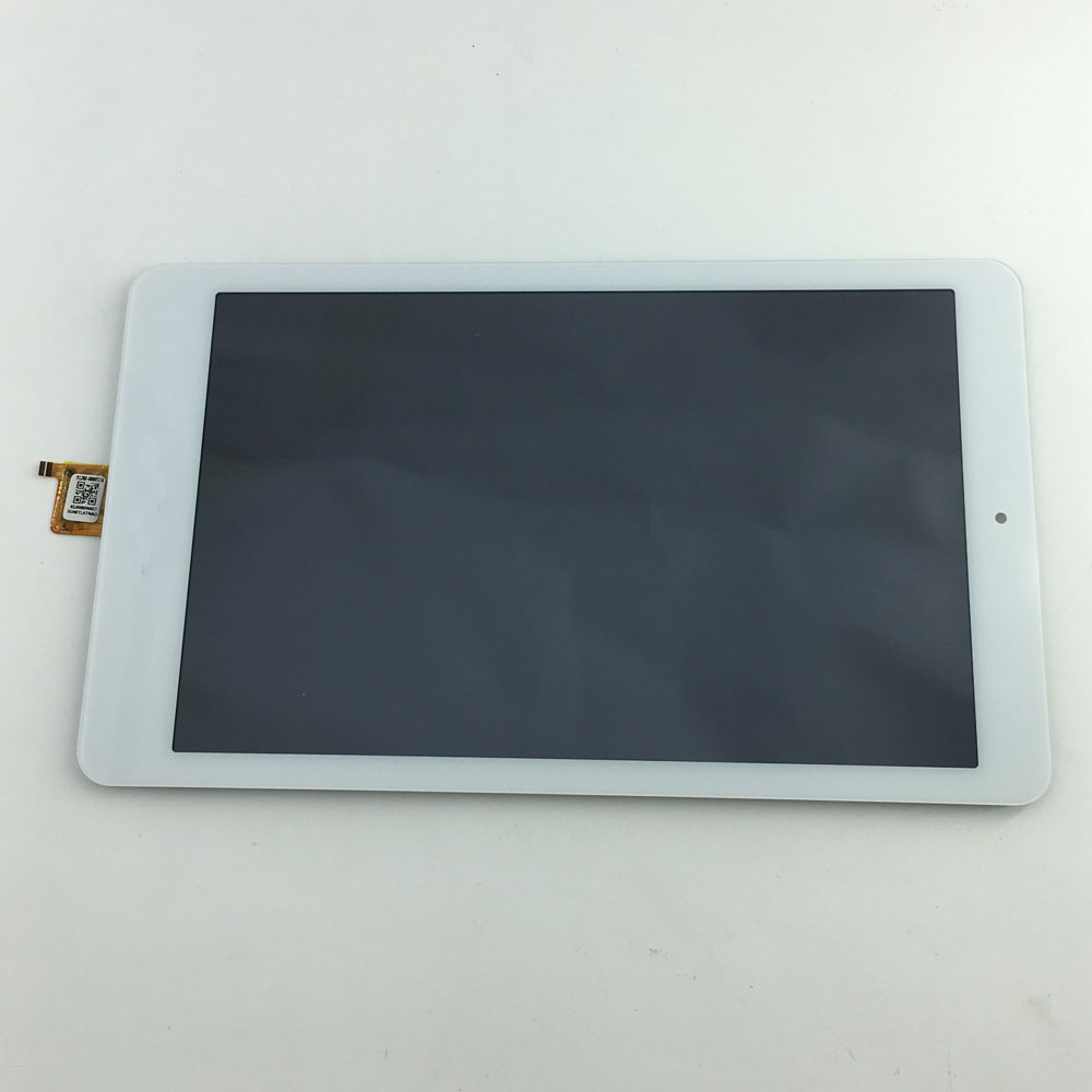 LCD Display Monitor Touch Screen Glass Sensor Assembly For Acer Iconia One 8 B1-820 White