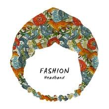 Diademas de zorros para mujer, Bandanas con estampado de zorros, turbante, para la cabeza turbante, diademas para el pelo para mujer, cintas elásticas para el pelo, accesorios para el cabello 2021