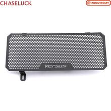 For Kawasaki Versys 650 versys650 2015 2016 2017 Motorcycle Radiator Grille Guard Grill Cover Protector Moto Cooler Accessory new stainless steel motorcycle accessories radiator guard cover grille grill fuel tank protector for r3 2015 2016 free shipping