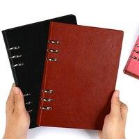 А4 В5 А5 А6 блокнот с отрывными листами, блокнот, кожаный блокнот, школьные блокноты, дневники, канцелярские принадлежности, блокнот