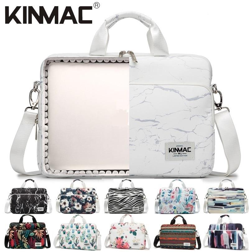 Waterproof Kinmac Brand Laptop Bag 13,14,15,15.6 Inch,Lady Man Shoulder Messenger Case For MacBook Air Pro 13.3,15.4 PC Dropship