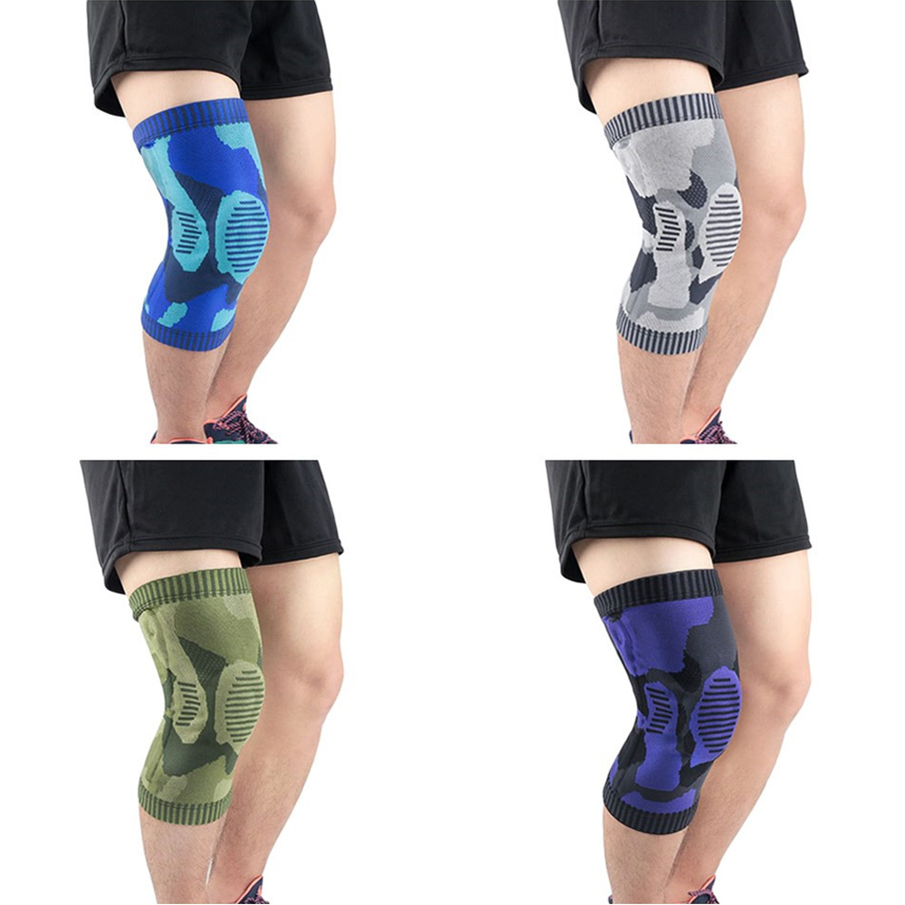 Anti-collision Supporting Sports Knee Protector Camouflage Knee Pads Protection SPSLF20008