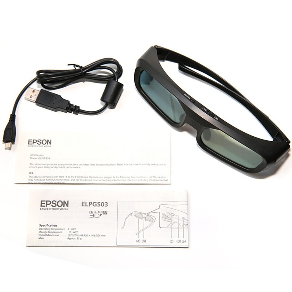 NEUE ELPGS03 bluetooth Shutter Aktive 3D gläser für Epson Home Cinema 3D Projektoren - 6
