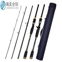 4 Section Lure Rod 1.8m/2.1m/2.4m/2.7m/3.0m Carbon Spinning Fishing Rod Travel Rod M Power Casting Fishing Pole Vava De Pesca