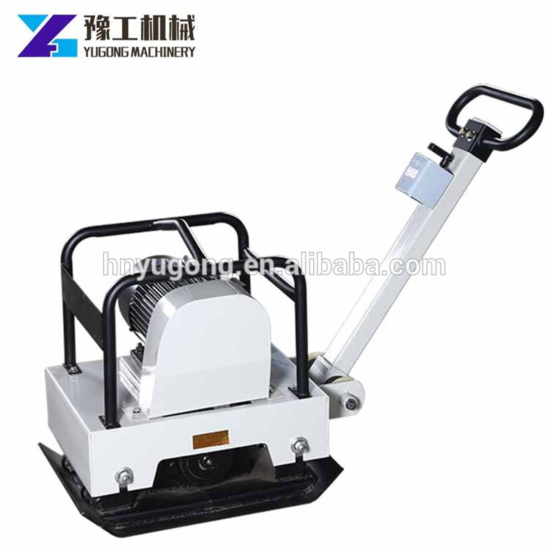 7.5KW Hand Push Type Flat Tamping Vibration Electric Tamping Machine Ground Compactor Vibration Plate CE ISO Certificationd