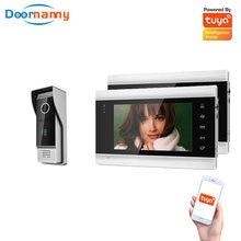 Домофон для виллы квартиры wi fi видеодомофон один на 2 монитора