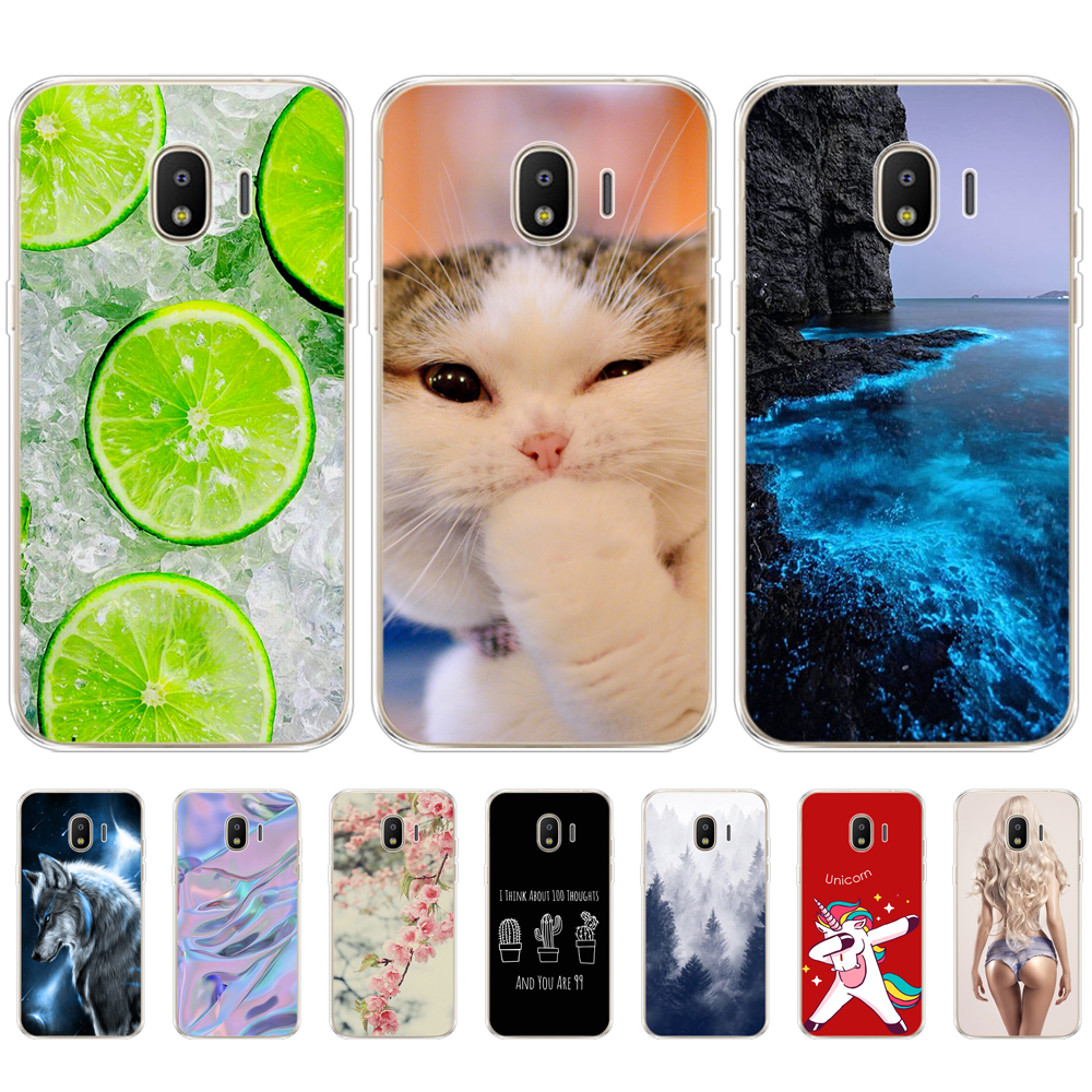 Cases for <font><b>samsung</b></font> <font><b>J2</b></font> <font><b>2018</b></font> pro cases Slicon Fashion Phone back cover for <font><b>Samsung</b></font> <font><b>Galaxy</b></font> <font><b>j2</b></font> <font><b>2018</b></font> <font><b>SM</b></font>-<font><b>J250F</b></font> new phone shell TPU image