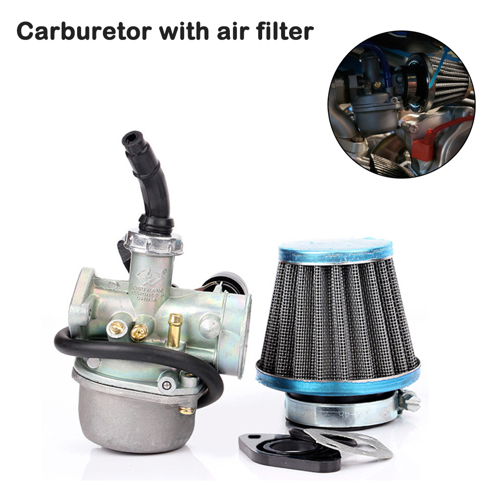Air Cleaner Motorcycle Engine Carburetor With Air Filter For Motorcycle <font><b>Pit</b></font> <font><b>Bikes</b></font> 50cc 70cc 90cc 110cc <font><b>125cc</b></font> Engine High Quality image