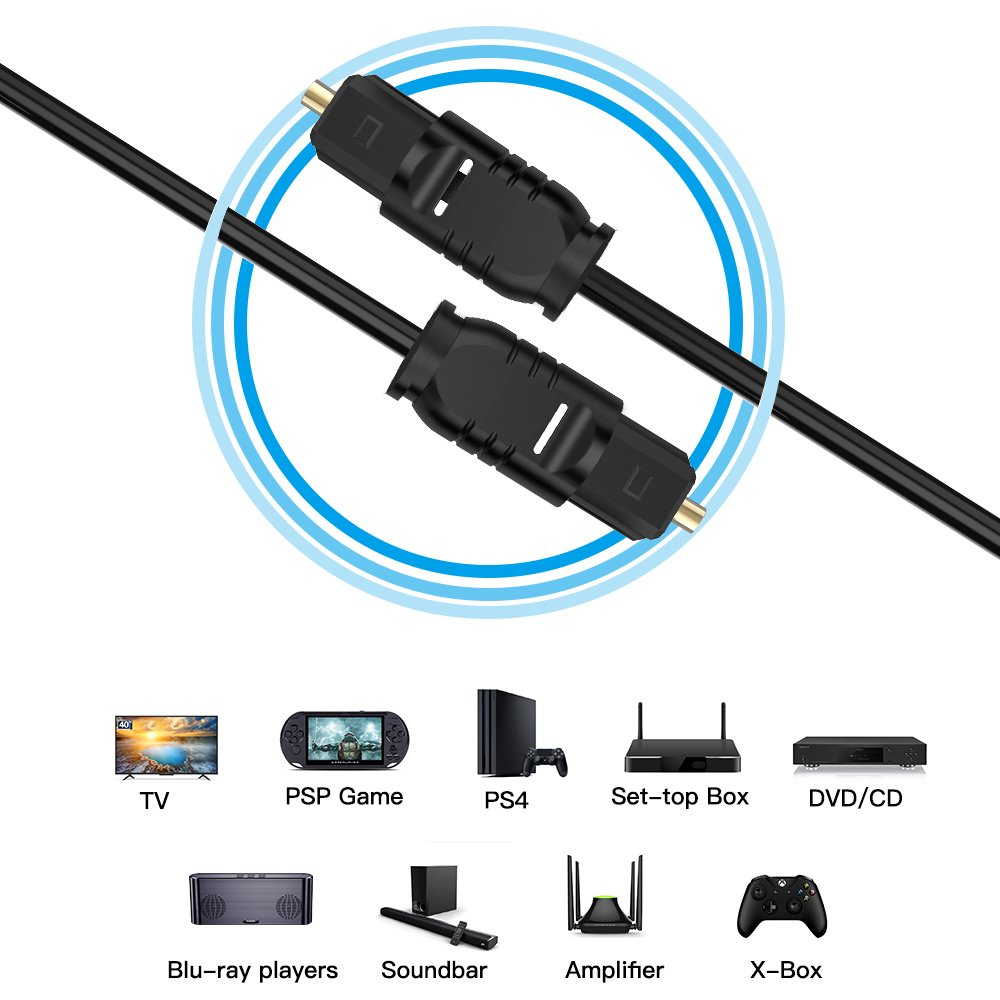 Digital Optical Fiber Audio Cable 04
