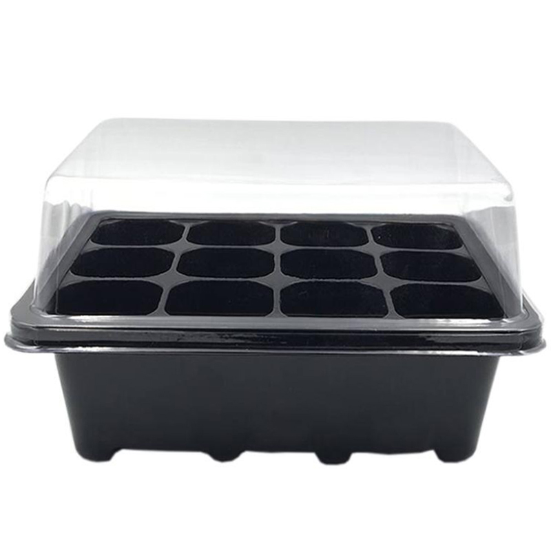10 Sets Of Nursery Pots Planting Seed Tray Kit Plant Sprouting Box