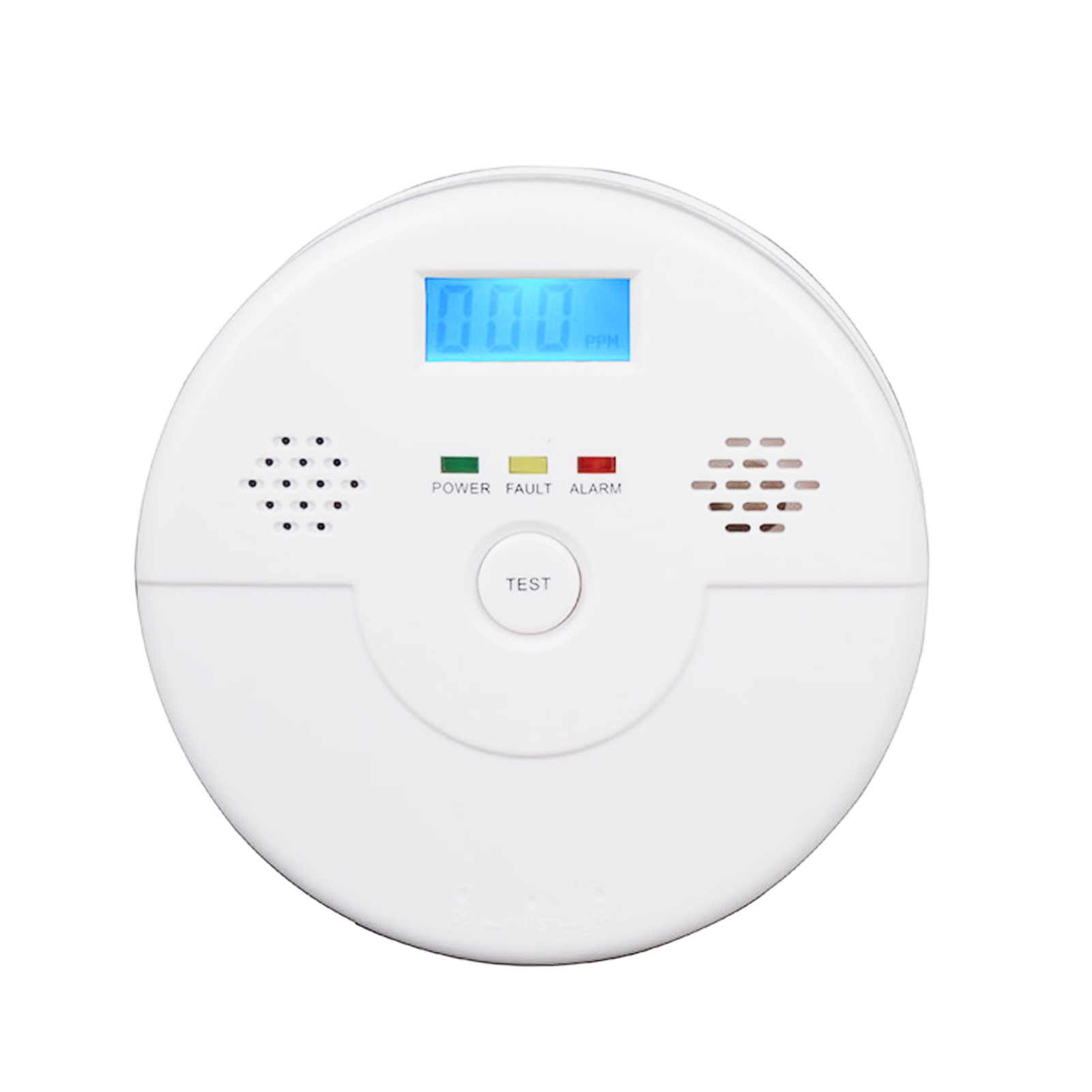 Carbon Monoxide Alarm Detector Co Alarm Detector With Digital Display Household Safety Equipment Powered By Battery Bracing Up The Whole System And Strengthening It