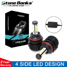 Stone Banks H7 H4 H1 H11 H8 H9 H16 9005 HB3 9006 HB4 H3 HIR2 H13 9004 HB1 9007 HB5 LED Car Headlight Bulbs Canbus 100W 6000K 24V canbus led h7 h4 h11 h1 h3 9005 hb3 9006 hb4 9012 hir2 880 h8 h9 9007 9004 h13 h4 led headlight car bulb light 12v 24v 6500k 2x