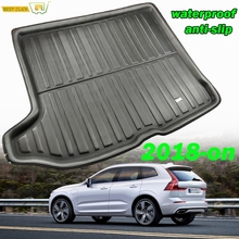 Boot Cargo Liner Rear Trunk Boot Mat For Volvo XC60 2 MK2 2018 2019 2020 Second Genetation Floor Carpet Luggage Tray
