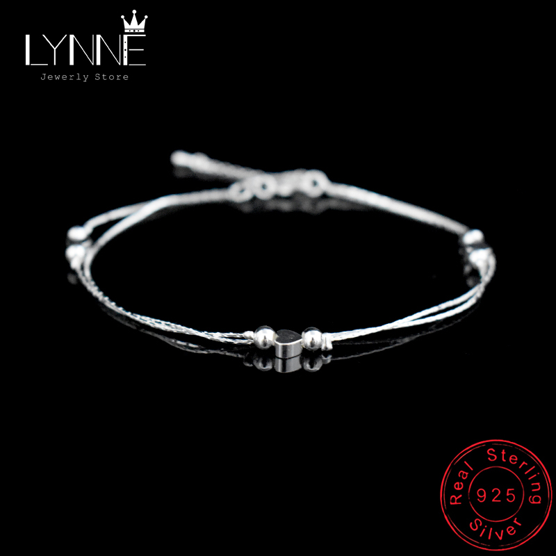 New Double Layers Chain Heart & Star Charm Anklet Fashion 925 Sterling Silver Anklets Bracelet Foot Chain For Women Jewelry Gift