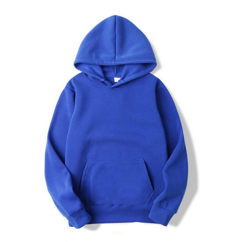 2020 Quality Brand Men Hoodie Autumn Male Hip Hop Streetwear Men Pullover Sweatshirts Hoodies Mens Solid Color Hoodie