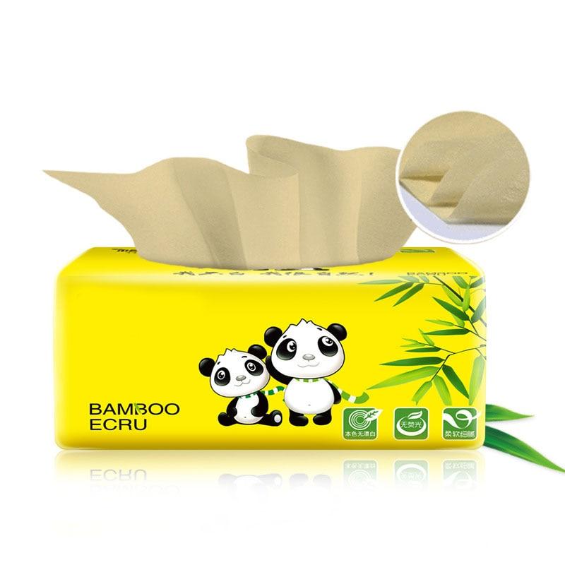 1 Pcs Tissue Napkin Paper Soft Skin-Friendly 3 Layer Portable For Toilet Home Bathroom New TT@88
