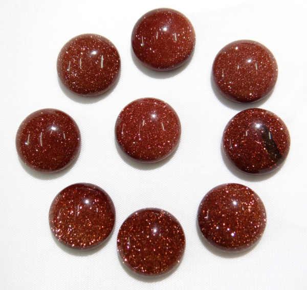 ขายส่ง 50 ชิ้น/ล็อตหินธรรมชาติรอบ 16 มม.cabochon ไม่มีสีเหลือง jades ลูกปัดสำหรับเครื่องประดับ DIY อุปกรณ์เสริมแหวน