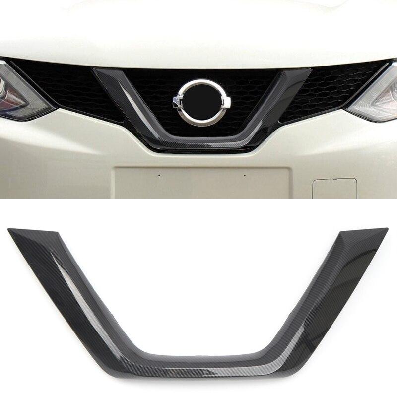 Pour Nissan Qashqai 2014-2019 personnalisé avant milieu Grille couverture de remplacement voiture style accessoires