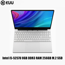 KUU 15.6Inch For Intel i5-5257U 3.10GHz Gaming laptop 256GB SSD IPS Screen Keyboard Backlight Fingerprint Unlock game Notebook