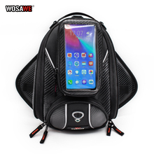 WOSAWE Motorcycle Bags Magnetic Tank Bag Motorcycle Phone Holder Cell Phone Case for Motorbike motorcycle Holder for iPhone X
