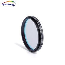 OPTOLONG-Filtro de doble banda para DSLR, monóculo de control de luz defectuosa de plástico resistente, de 2 pulgadas, grosor de 1.85 mm, bloqueo de línea de contaminación lumínica LD1004B
