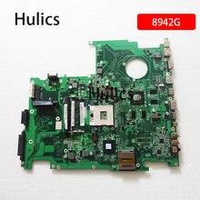 Оригинальная материнская плата для ноутбука Hulics DAZY9BMB8E0 для Acer aspire 8942 8942G, материнская плата